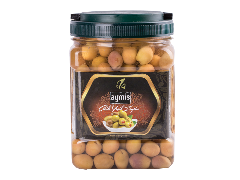 Scratched Green Olives 1 kg
